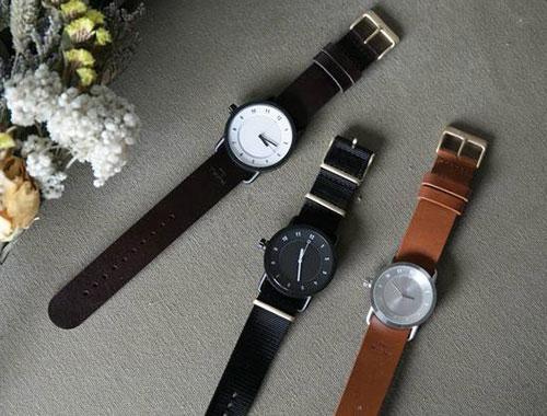 TID Watches|TID No.1 Leather Wristband(ゴールドバックル)