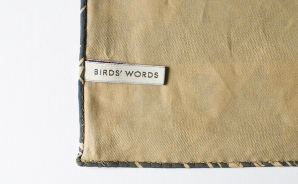BIRDS' WORDS│HANDKERCHIEF