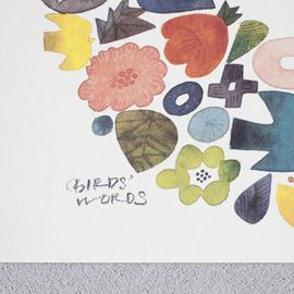 BIRDS' WORDS│POSTER[300×300]