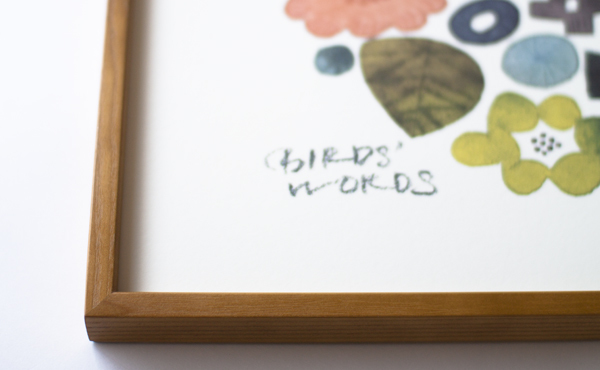 BIRDS' WORDS│POSTER[600×600]