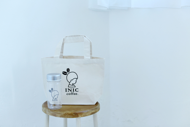 INIC coffee Take Me Bottle with Tote Bag