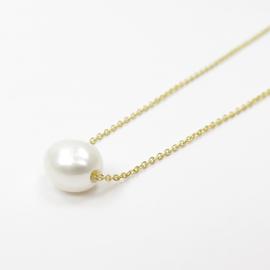 Laboratorium keshi pearl necklace