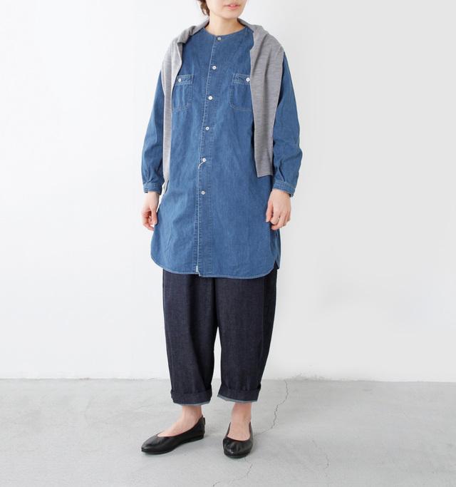 model yama:167cm / 49kg color : denim used / size : 0