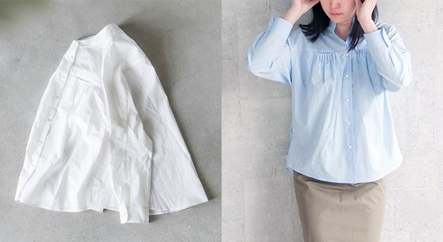 toHu|タックポケットシャツ th17s0003