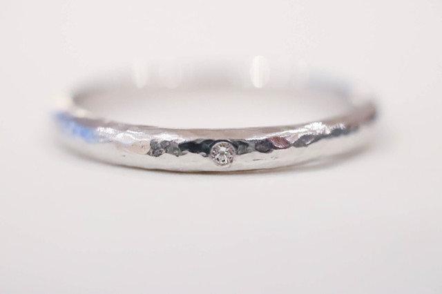 メレダイヤを表面に施した例
