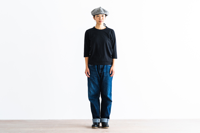 ブラック / M 着用、モデル身長:160㎝