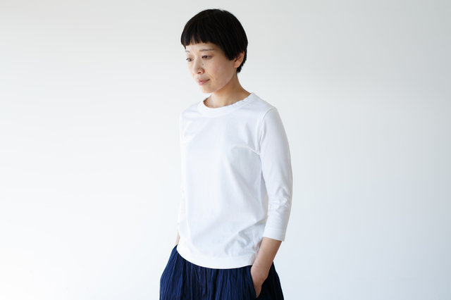ホワイト / S 着用、モデル身長:158cm