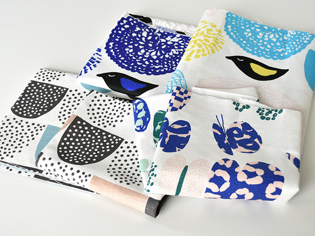 人気ブランドのmarimekkoセットやartekセット、小物作りに使いやすい小柄セット、暖色、寒色、モノクロの3つのカラー別で選べるセットなど、見ているだけで創作意欲が湧いてくるようなバラエティー豊かなラインナップです!