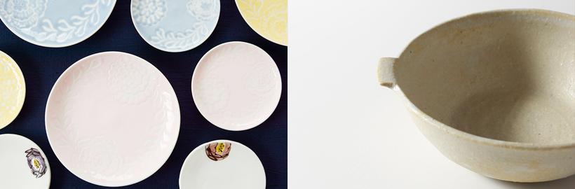 食卓に温もりが加わる器を。お料理が楽しくなる陶磁器の食器特集